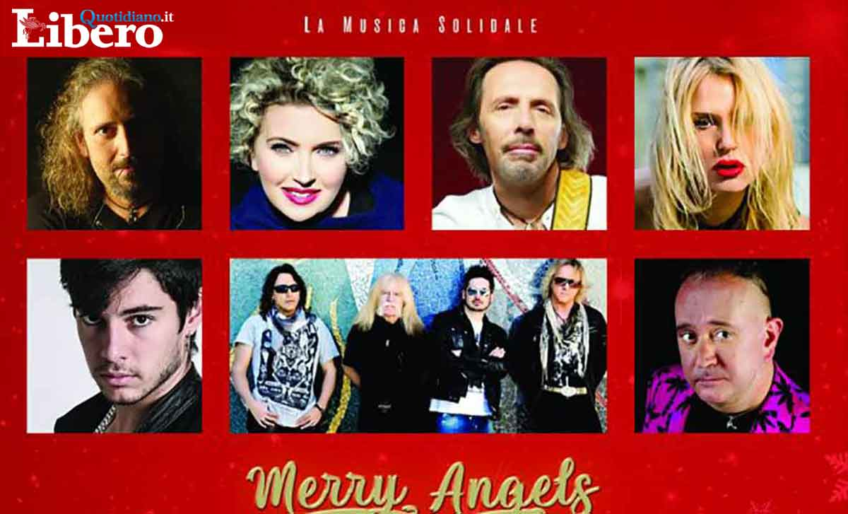 Libero Quotidiano: Recidivo Canta In Merry Angels Christmas – La Musica Solidale