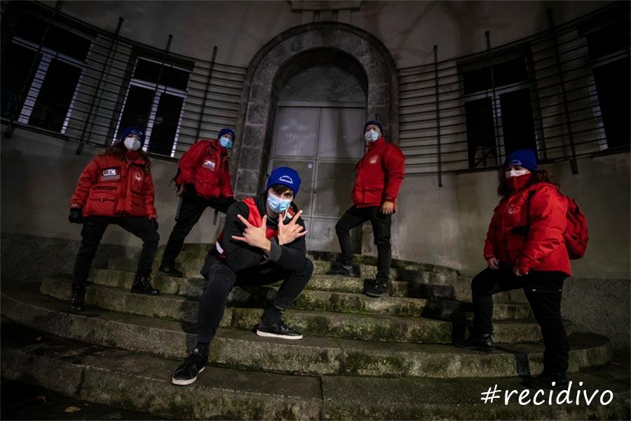 Recidivo Rapper Volontario City Angels di Bergamo